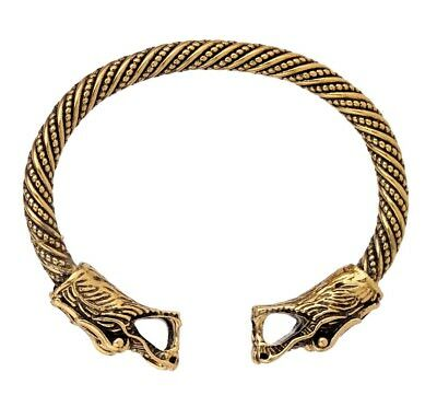 Ancient Dragon Head Celtic Knot Cuff Bracelet for Men/Women Jewelry