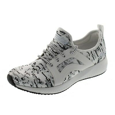 SKECHERS Sneaker - Bobs Squad DOUBLE DARE 31363 - white black gray