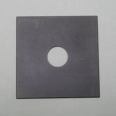 Sinar size lens board pre-drilled for Copal 0
