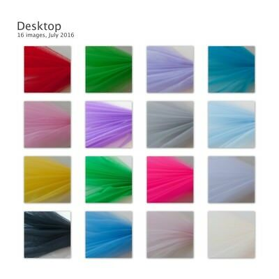 Dress Net Tutu Tulle Fabric Flare Free 150cm Wide 30+ Colours & Volume Discounts