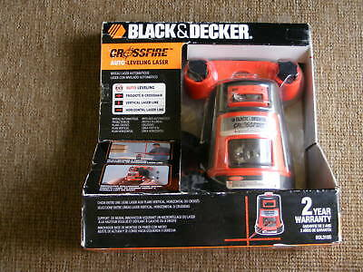 Black & Decker BDL310S Projected Crossfire Auto Level Laser - New