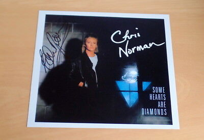 Chris Norman *Midnight Lady, Smokie* original signed Photo 20x20 cm (8x9)