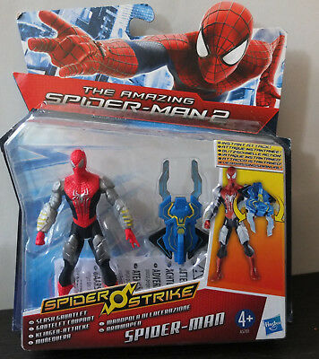 Hasbro A5701 Spider-Man Spider Strike Figur NEU Klingen Attacke Slash Gauntlet