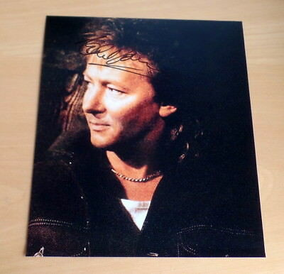 Chris Norman *Midnight Lady, Smokie* original signed Photo 20x25 cm (8x10)