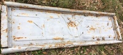 Late 40's to 50's - WILLYS OVERLAND JEEP PICKUP TRUCK TAILGATE - MAN CAVE