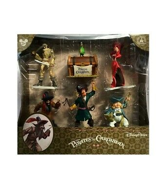 Disney Parks Pirates of the Caribbean Collectible Figures Figurine Play Set NEW