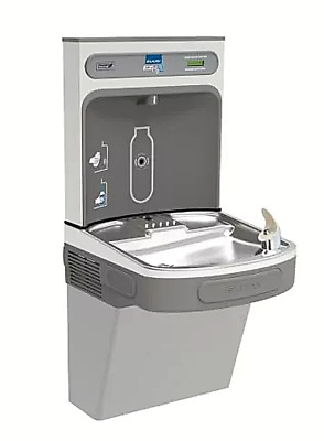 Elkay EZH2O Wall Mount Drinking Fountain Bottle Fill Station College Gym School