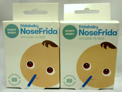 Fridababy What's the Fuss? NoseFrida Hygiene Filters Contains 20 Filters 2 Boxes