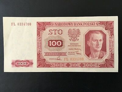 Poland – 100 Złotych 1948 – Pick# 139a ~ Uncirculated