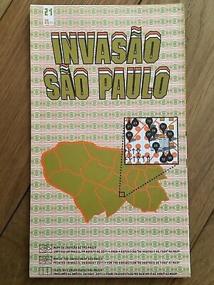 Space Invader Invasion of Sao Paulo #21 2011 invasion map