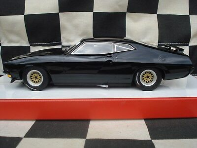 Scalextric - XB - Black Beast - muscle car - custom painted
