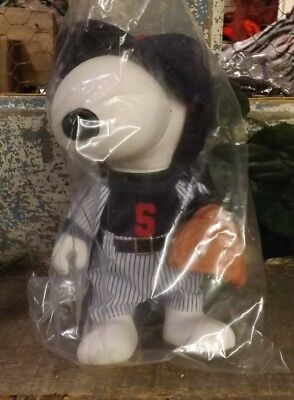 """Snoopy Collector Doll """"The Baseball Player"""""""