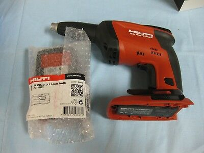 New Other - Hilti SD 4500-A22 Cordless Drywall screw driver + Battery B22/3.0