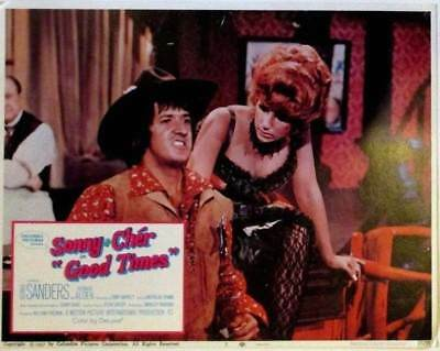 Sonny & Cher | Good Times | Orig. 1967 Columbia Pictures Lobby Card