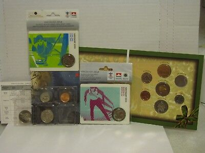 Canadian Mint Partial Coin Sets