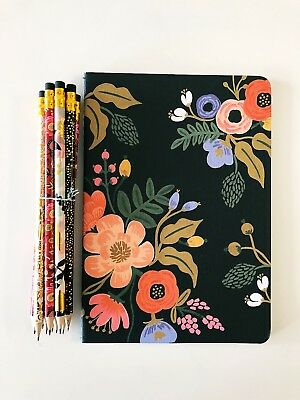 Rifle Paper Co 10 Pencil Set With Notebook