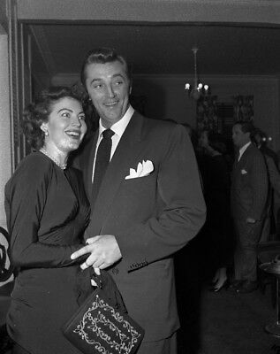 Robert Mitchum and Ava Gardner UNSIGNED photograph - L4728 - In the 1950s