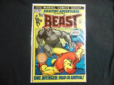 Amazing Adventures #12 Vf+ 8.5 High Grade Book 2Nd App Of The Beast...key Issue