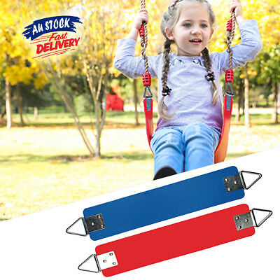 Kids Swing Seat Playground Set Rubber Coated Children Play Game Outdoor