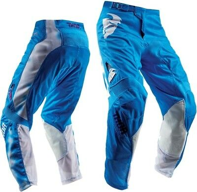 THOR PULSE AIR RADIATE BLUE PANTS MX Offroad Jersey *NEW* Motorbike MOTO