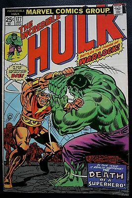 Avengers; #177; Thor; Warlock; from 1974
