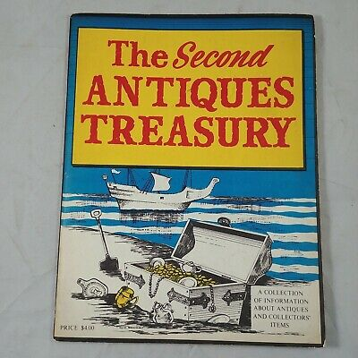 ve The Second Antiques Treasury Vintage Magazine Collectors Collectibles 1968