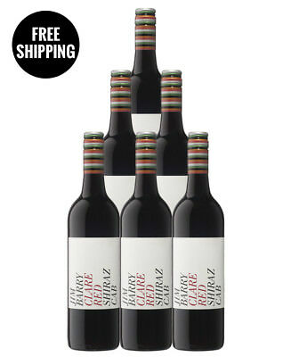 Jim Barry Clare Red Shiraz Cab 2013 (6 Bottles)