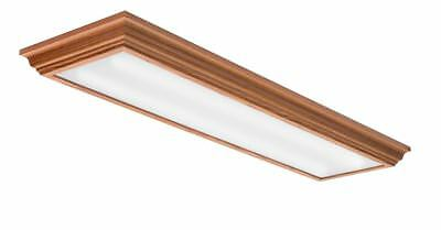 the latest 936b1 17d66 LITHONIA LIGHTING LED Flush Mount 4 ft Indoor Ceiling Fixture Commercial  Light