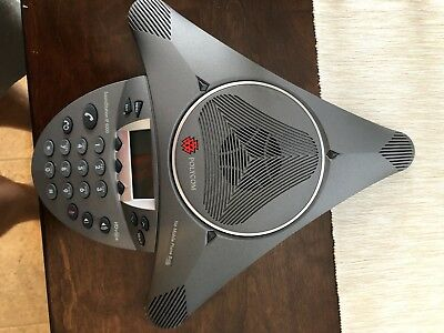 New Open Box Polycom SoundStation IP 6000 SIP-Based Conference PoE Phone Only