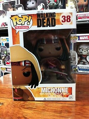 Pop TV The Walking Dead Michonne 38 Funko Pop Vinyl Expert Packaging