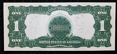 DH Fr 228 1899 $1 Silver Certificate Gem Note with Heavy Fibers