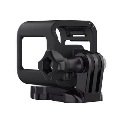 Low-profile Housing Frame Cover Mount Holder For GoPro Hero 4/5 Session -on