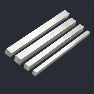 304 STAINLESS STEEL SQUARE BAR ROD 3*3 4*4 5*5 7*7 10*10mm 50cm 20""