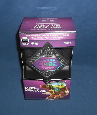 Merge Cube ~ Augmented / Virtual Reality Interactive Hologram Phone Game AR VR