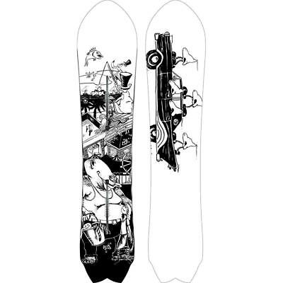 NEW Snow gear Burton Men's Fish Snowboard