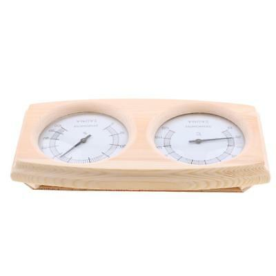 Large Sauna Equipment And Accessories Sauna Room Thermometer and Hygrometer