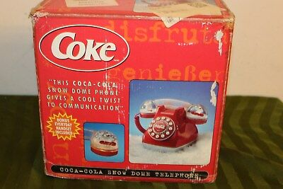 Vintage Coke Phone / Vintage Coca-Cola Phone / Sign / Advertising