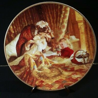 Knowles Collector Plate, Little Red Riding Hood.Classic Fairy Tales
