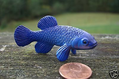 Yowie US Chocolate Brand Collectible Figure Devil's Hole Pupfish Fish Yowies