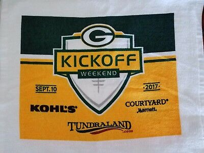 81fb0bcf6 16x26 - New Green Bay Packers Soft Cotton Bowling Towel Free Shipping!!
