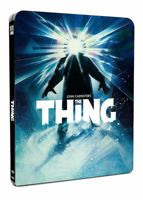 The Thing - Limited Edition Steelbook Blu-ray 2017 Kurt Russell Horror Sold Out
