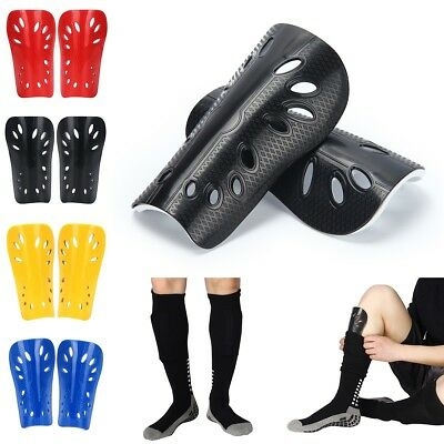 Lightweight & Highly Protective Soccer Shin Guards With Adult & Youth Sizes AU