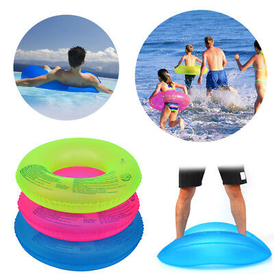 Baby Adult Swim Ring Inflatable Float Swimming Ring Pool PVC Lifesaving Ring SGU