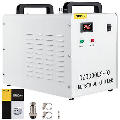 CW-3000DG Thermolysis Industrial Water Chiller for 60w / 80w CO2 Glass Laser
