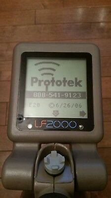 Prototek LF 2000 Sewer Line and Cesspool Finder with pinpoint accuracy.