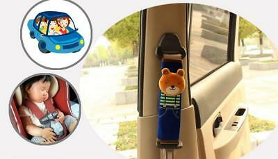 Car Safety Seat Belt Shoulder Pads Cover Cushion Harness Comfortable Pad Hot