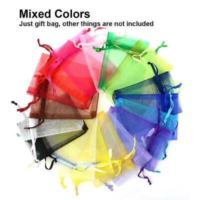 Mixed Organza Gift Bags Jewellery XMAS Present Wedding Party Packing Favor Pouch
