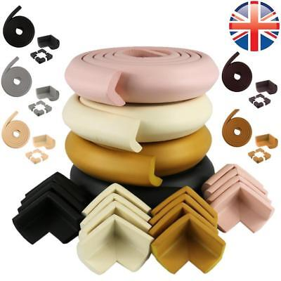 *UK Seller* Baby Safety Soft U Corner 2M Edge Foam Guard Cushion Glass Table