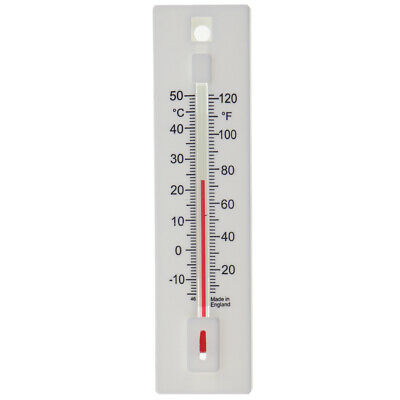 Wall Thermometer Indoor Outdoor Garden Greenhouse Room Home Office - In-003