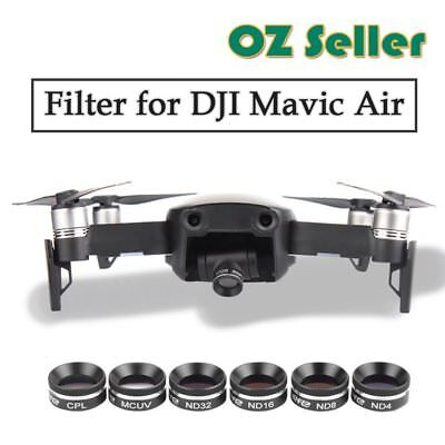 For DJI Mavic Air Drone ND4 ND8 ND16 STAR CPL UV Waterproof Camera Lens Filters